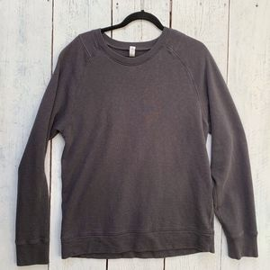 Lululemon Mens L Long Sleeve Cotton Terry Pullover
